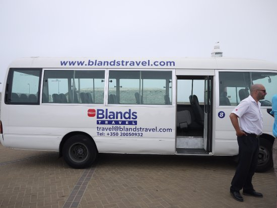guide and car photo de blands travel gibraltar tripadvisor. Black Bedroom Furniture Sets. Home Design Ideas