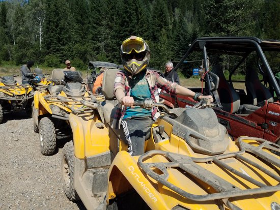 Panorama, Kanada: Be prepared to get a little dirty.