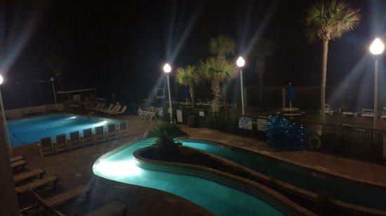 lazy river at night picture of grande shores ocean resort myrtle rh tripadvisor com
