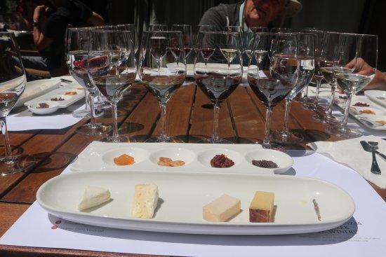 Matanzas Creek Winery: Cheese & Wine Pairing