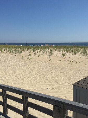 Sea Girt Beach And Boardwalk