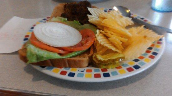 Waterloo, NY: hamburger
