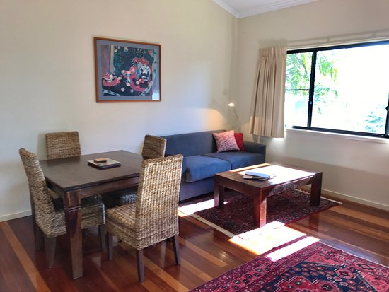 Clunes, Australia: 1 bedroom Villa living room