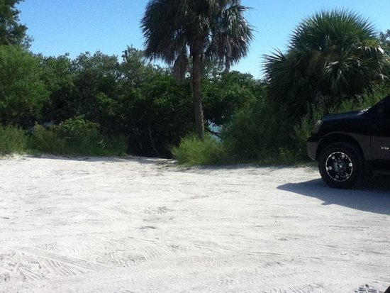 Kayak lauching area - Picture of Blind Pass Beach ...