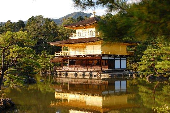 Gyllene paviljongens tempel (Kinkakuji)