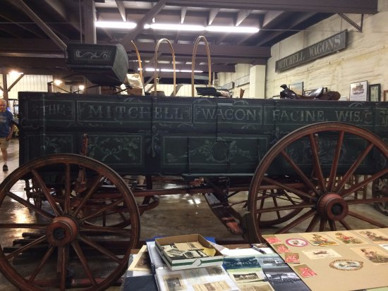 Boonville, MO: A Mitchell wagon