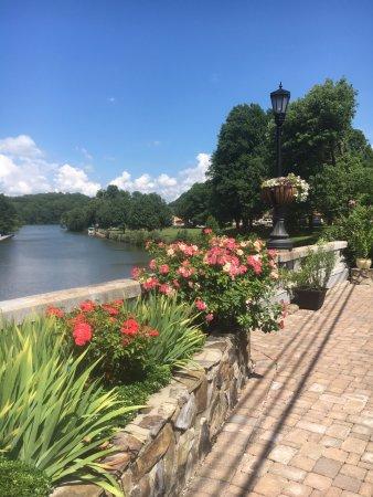 Lake Lure, Kuzey Carolina: Flowering Bridge