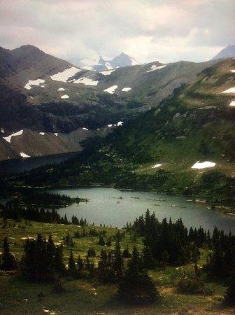 West Glacier, MT: Taken at viewing pint of Hidden Lake