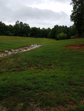 Landrum, SC: field near bridge