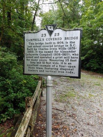 Landrum, SC: historical marker