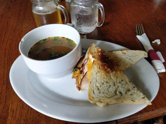 Cypress, TX: Turkey panini