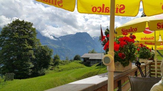 Braunwald, Suíça: Blick zum Klausenpass