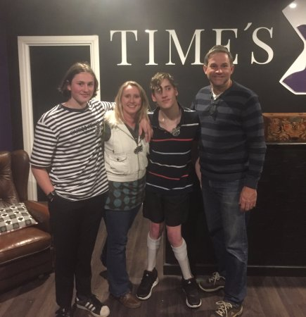 Family Winter Fun @ Time's Up Escape Rooms Wanneroo August 2017