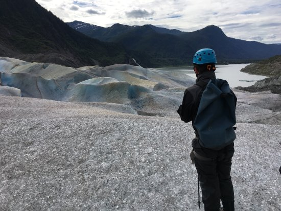 Harv and Marv's Outback Alaska: What a great trip To Mendenhall Glacier with Ben! A once in a lifetime experience!