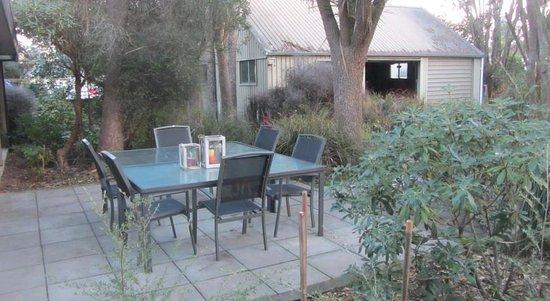 Geraldine, Nieuw-Zeeland: Barbecue area