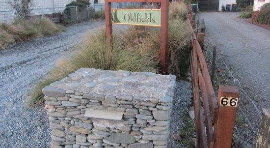 Geraldine, Nieuw-Zeeland: Easy access and easy to find!