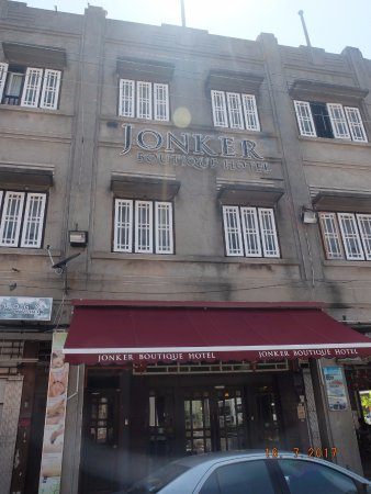 Jonker Boutique Hotel: The Facade of the hotel