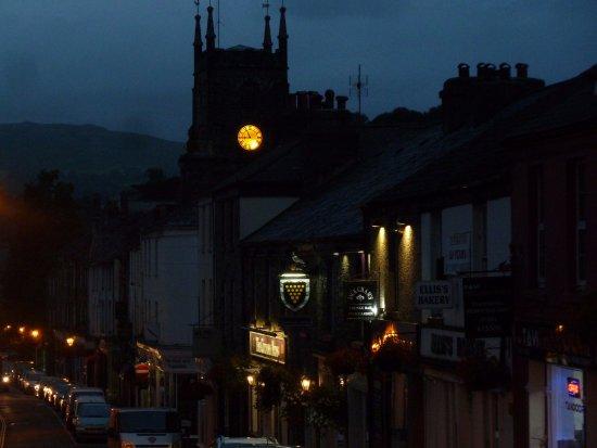 Tavistock in the evening and Cornish Arms