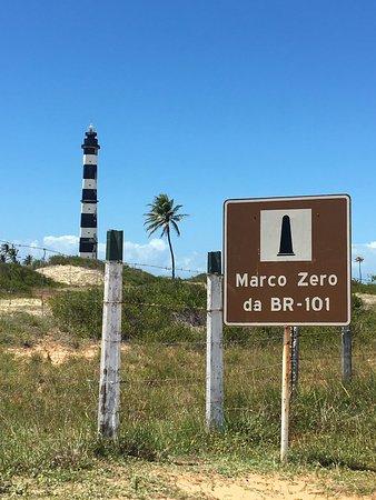 Touros, RN: Marco Zero da BR101