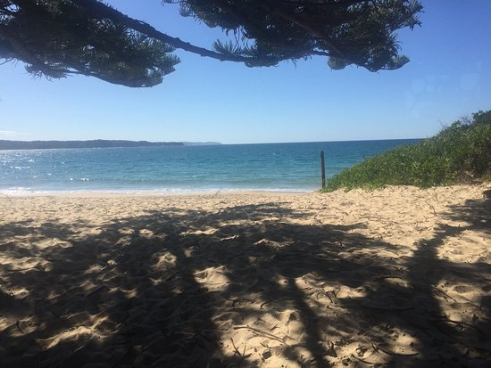 Tathra, Australien: The view from our table