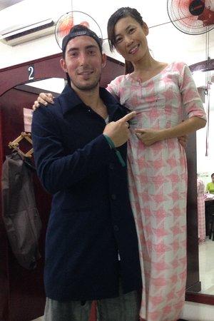 Kimmy Custom Tailor: Chi & I with my coat