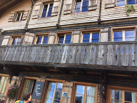 Jaun, Швейцария: Le chalet du Soldat