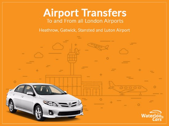 Waterloo Cars To Gatwick Airport