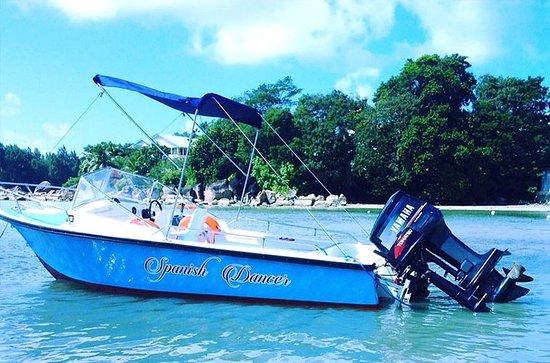 Baie Ste Anne, Seychelles: Spanish Dancer boat!