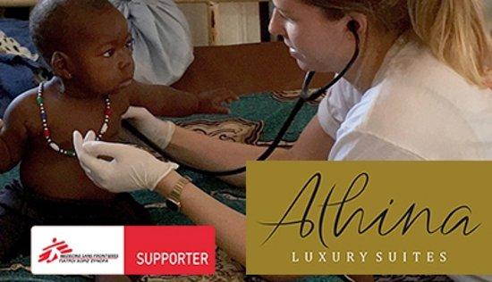 Athina Luxury Suites supports MSF