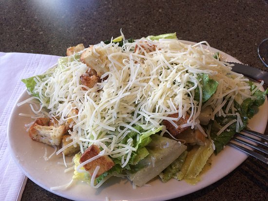 San Mateo, CA: Caesar salad
