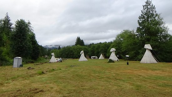 Mineral, WA: Seven Tipis/Rooms
