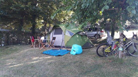 Camping a la ferme la Roussie: Camping a la ferme la Roussie