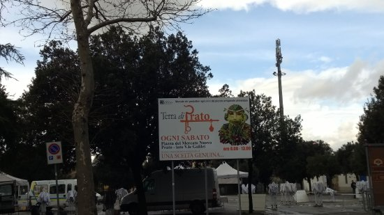 Prato, Italy: cartello