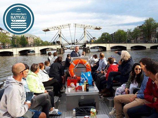 Amsterdam-Bateau - Tours en francais