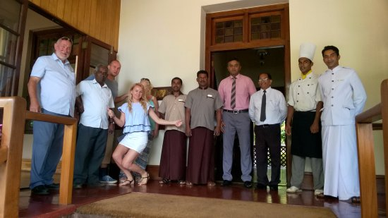 Bandarawela Hotel: the friendly saff!