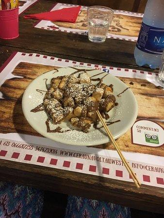 Fiumicino, Ιταλία: Le zoccolette a fine cena