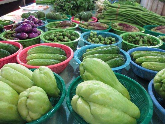 San Sai, Tailandia: fresh ingredients