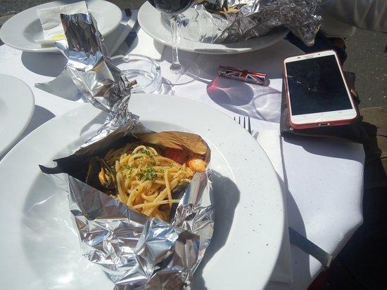 Mamma Mia: spaghetti allo scoglio nel cartoccio...bellissimiiiii e buonissimi