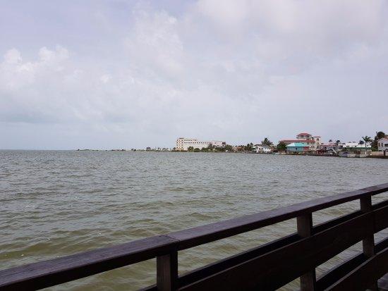 Club Calypso Seafood Restaurant: Vista a la Ciudad