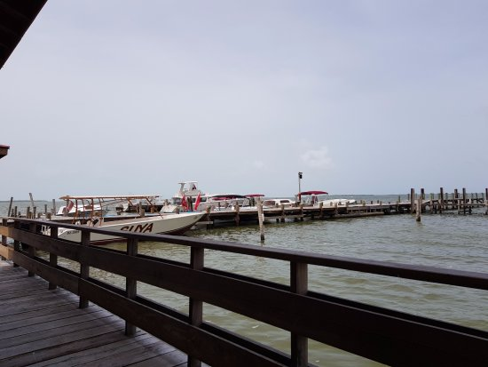 Club Calypso Seafood Restaurant: Muelle desde el restaurante
