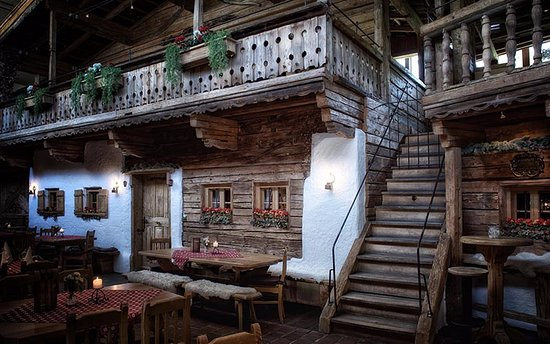Waidring, Avusturya: A village in the house - cute!