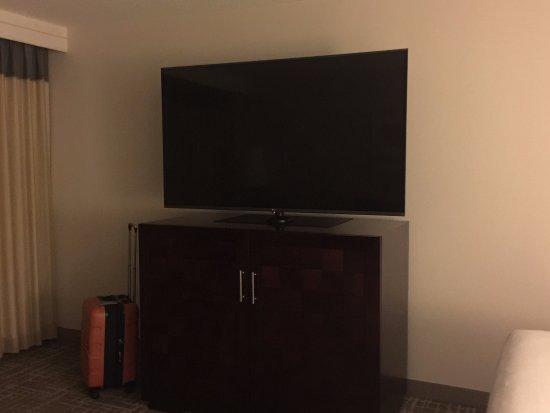 Hyatt Regency San Antonio: Huge TV!
