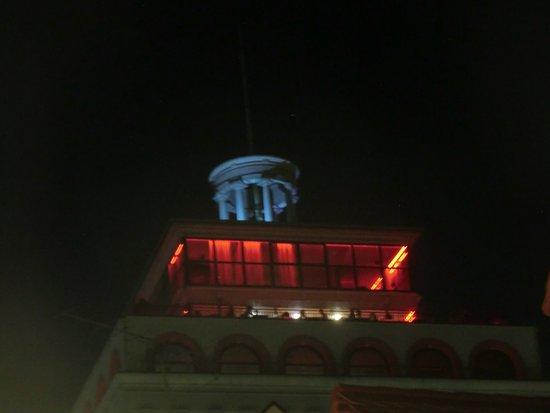 Skyscraper Neboticnik Top At Night