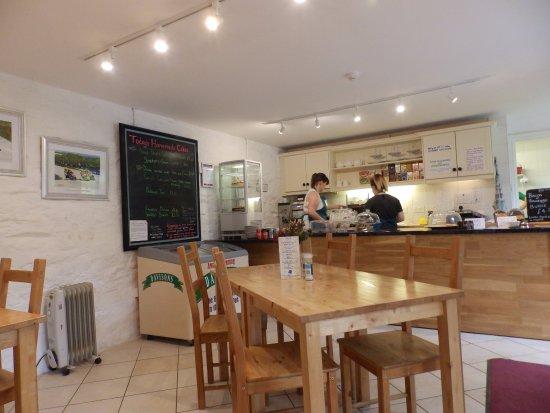 Sulby, UK: Tea barn