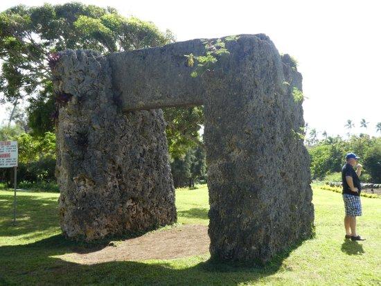Tongatapu Island, Tonga: the formation