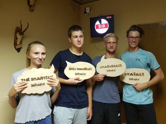 Murska Sobota, Slovenien: Friends on special mission! Mission accomplished!