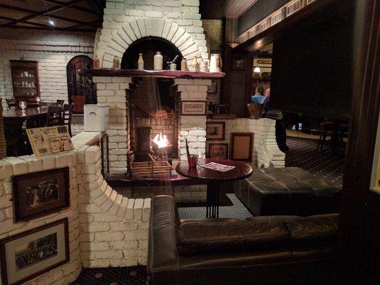 Doolan Brothers Newmarket: Fireplace