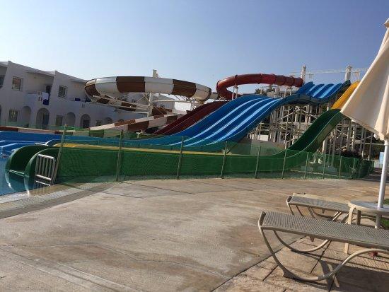 Louis Creta Princess Beach Hotel: Waterpark (Early morning!)