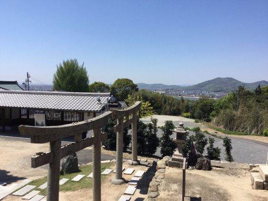 Setouchi, Japón: 西大寺、吉井川方面の展望