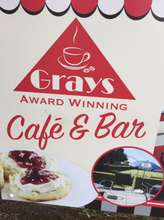 Brenchley, UK: Grays cafe & bar